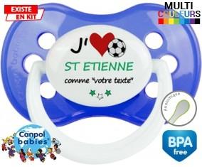 J'aime saint etienne + prénom: Sucette Anatomique-su7.fr