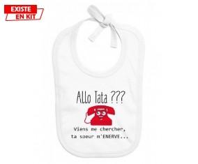 Allo tata: Bavoir bébé-su7.fr