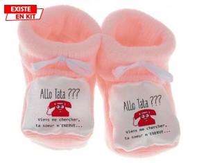 Allo tata: Chausson bébé-su7.fr