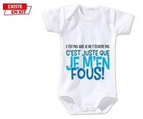 C'est pas que je t'écoute pas style2: Body bébé-su7.fr