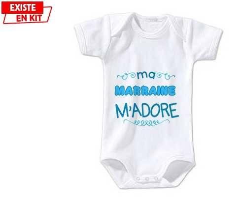 Ma marraine m'adore (garcon): Body bébé-su7.fr