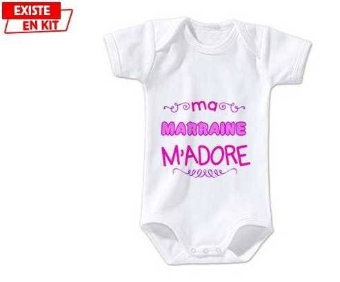 Ma marraine m'adore (fille): Body bébé-su7.fr