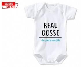Beau gosse de père en fils: Body bébé-su7.fr