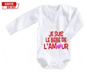 Je suis le bébé de l'amour: Body bébé-su7.fr