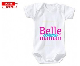 Belle comme maman style2: Body bébé-su7.fr