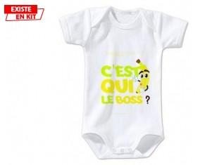 C'est qui le boss?: Body bébé-su7.fr