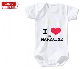 I love ma marraine: Body bébé-su7.fr