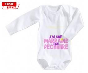 J'ai une marraine qui déchire style2: Body bébé-su7.fr
