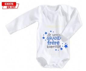 Bientôt je serai grand frère: Body bébé-su7.fr