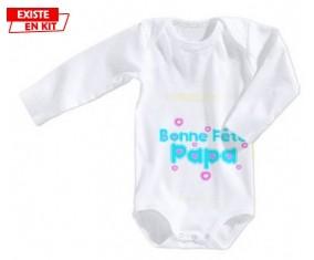 Bonne fête papa style1: Body bébé-su7.fr