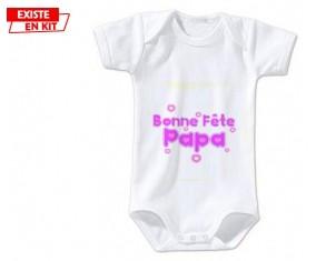 Bonne fête papa style2: Body bébé-su7.fr