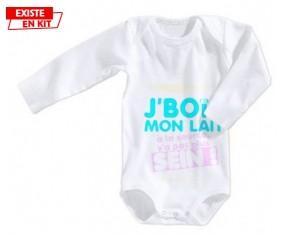 Je bois mon lait à la source style2: Body bébé-su7.fr