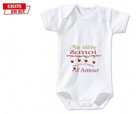 Ma sucette et moi une grande histoire d'amour: Body bébé-su7.fr