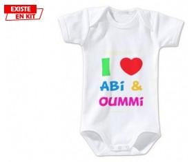 I love abi et oummi: Body bébé-su7.fr