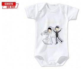 Vive les mariés: Body bébé-su7.fr