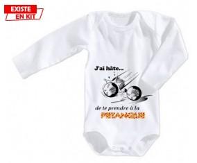 J'ai hâte de te prendre à la pétanque: Body bébé-su7.fr