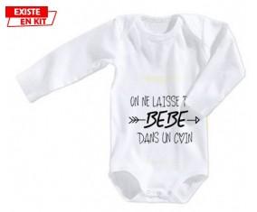 On ne laisse pas bébé dans un coin: Body bébé-su7.fr