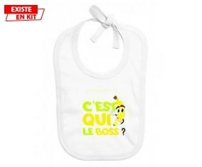 C'est qui le boss?: Bavoir bébé-su7.fr