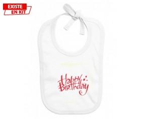 Happy birthday style2: Bavoir bébé-su7.fr