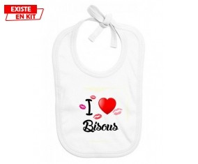 I love les bisous: Bavoir bébé-su7.fr