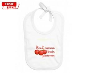 Haut comme 3 pommes: Bavoir bébé-su7.fr