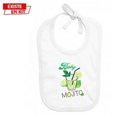 Baby mojito: Bavoir bébé-su7.fr