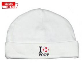 I love foot: Bonnet bébé-su7.fr
