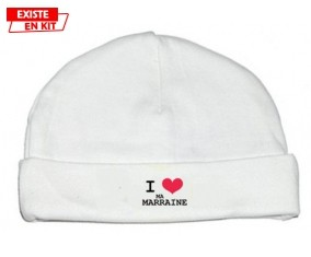 I love ma marraine: Bonnet bébé-su7.fr