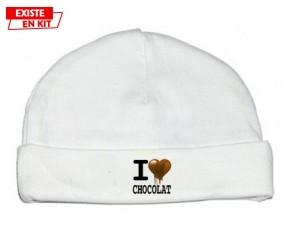 I love chocolat style2: Bonnet bébé-su7.fr
