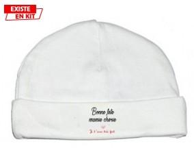 Bonne fête mamie: Bonnet bébé-su7.fr