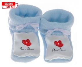Papa Maman Cœur style2: Chausson bébé-su7.fr