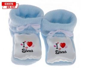 I love les bisous: Chausson bébé-su7.fr