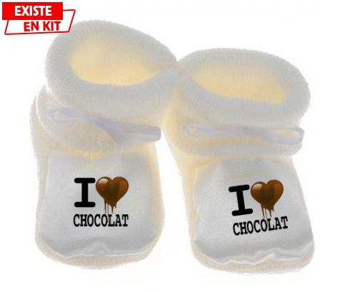 I love chocolat style2: Chausson bébé-su7.fr