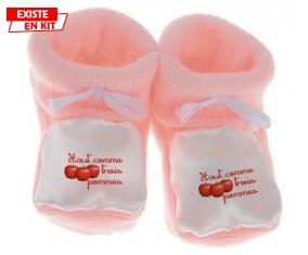 Haut comme 3 pommes: Chausson bébé-su7.fr