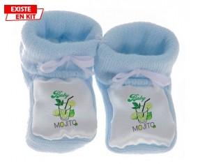 Baby mojito: Chausson bébé-su7.fr
