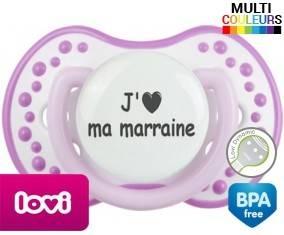 Coeur j'aime ma marraine: Sucette LOVI Dynamic-su7.fr