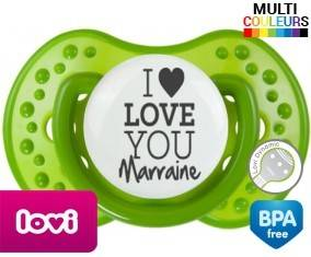 I love you marraine style1: Sucette LOVI Dynamic-su7.fr
