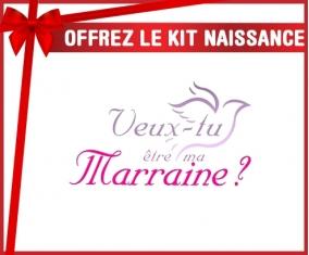 Kit naissance: Veux-tu être ma marraine? Style2-su7.fr