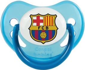 FC Barcelone : Sucette Bleue phosphorescente embout physiologique