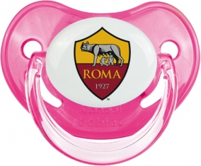 As Roma : Sucette Rose classique embout physiologique