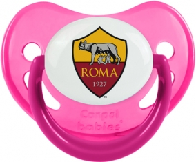 As Roma : Sucette Rose phosphorescente embout physiologique