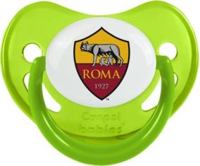 As Roma : Sucette Vert phosphorescente embout physiologique