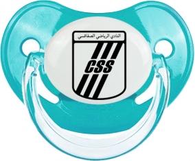 Club sportif sfaxien : Sucette Bleue classique embout physiologique