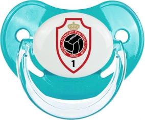 Royal Antwerp FC : Sucette Bleue classique embout physiologique
