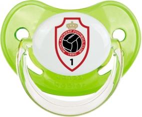 Royal Antwerp FC : Sucette Vert classique embout physiologique