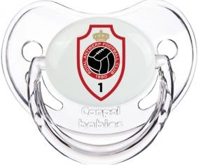Royal Antwerp FC : Sucette Transparent classique embout physiologique