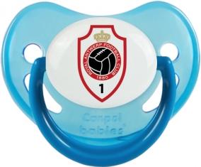Royal Antwerp FC : Sucette Bleue phosphorescente embout physiologique