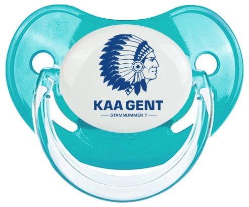 KAA Gent : Sucette Bleue classique embout physiologique