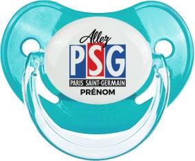 Allez Paris saint-germain + prénom : Sucette Physiologique personnalisée