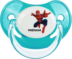 Spiderman + prénom : Sucette Physiologique personnalisée